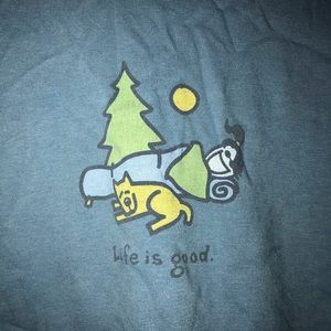 Life Is Good Tops - Life Is Good long sleeve shirt